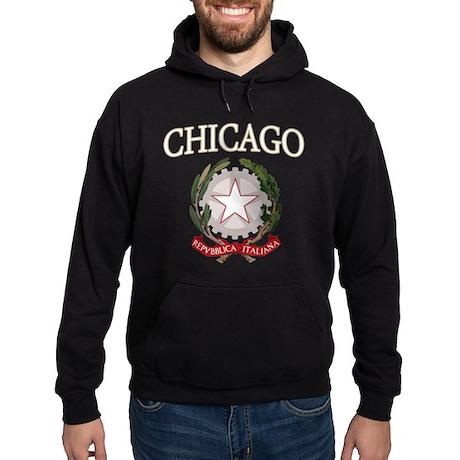 Chicago Italian Logo Hoodie (dark)
