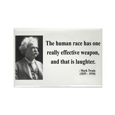 Mark Twain 44 Rectangle Magnet (10 pack)