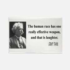 Mark Twain 44 Rectangle Magnet