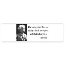 Mark Twain 44 Bumper Bumper Sticker
