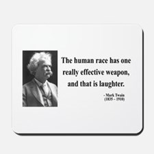 Mark Twain 44 Mousepad