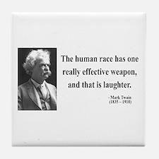 Mark Twain 44 Tile Coaster