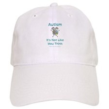 Autism Think Baseball Cap