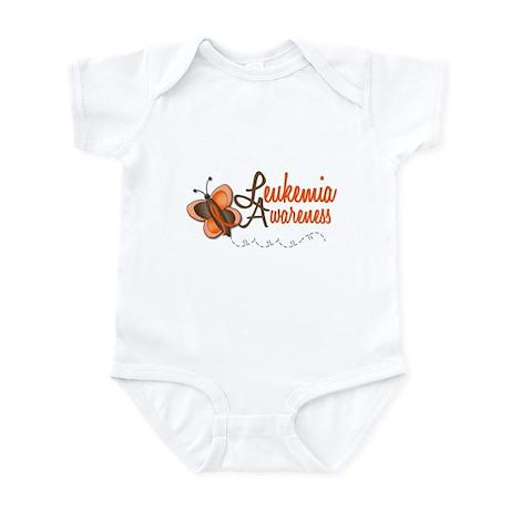 Awareness 1 Butterfly 2 LEUK Infant Bodysuit