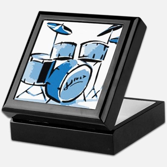 Drum Set Drums Keepsake Box