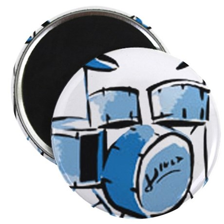 "Drum Set Drums 2.25"" Magnet (100 pack)"
