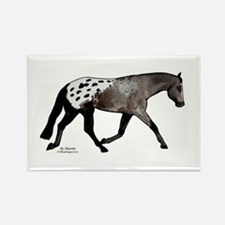 Blanketed Appy Rectangle Magnet