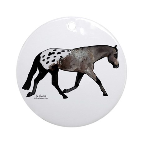 Blanketed Appy Ornament (Round)