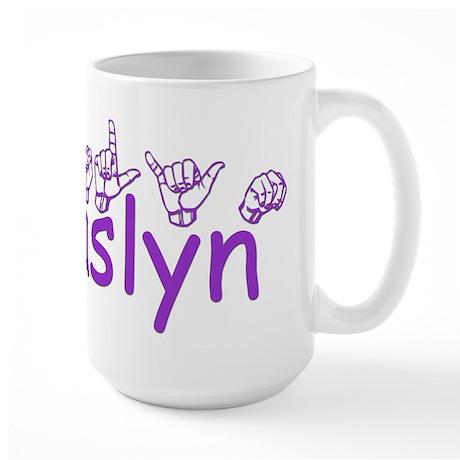 Jaslyn Large Mug