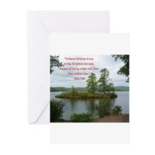 Streams Of Living Water Greeting Cards (Pk of 20)