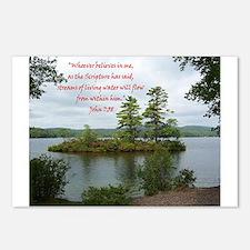 Streams Of Living Water Postcards (Package of 8)