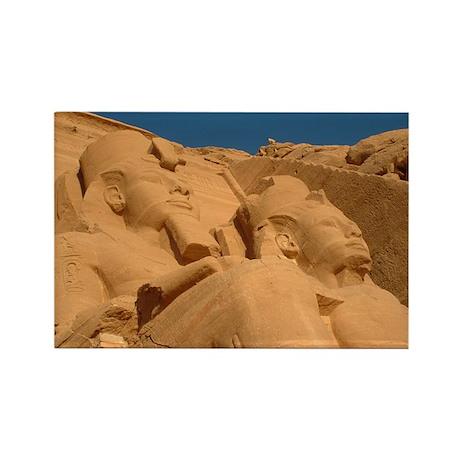 Abu Simbel Rectangle Magnet (100 pack)