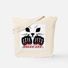 RACER CAT Tote Bag