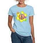 Peace Blossoms / orange Women's Light T-Shirt