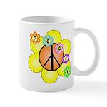 Peace Blossoms / orange Mug