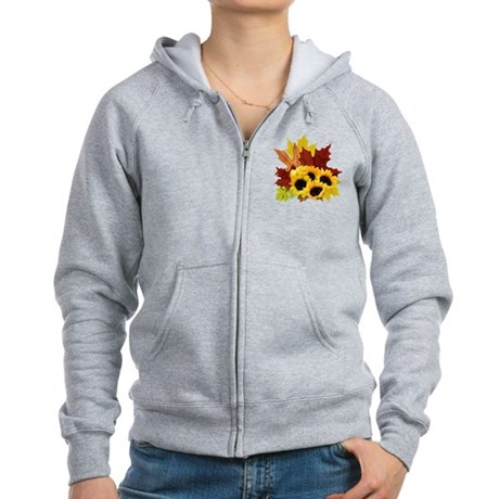 Fall Bouquet Women's Zip Hoodie