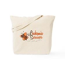 Leukemia Survivor 1 Butterfly 2 Tote Bag