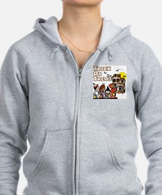 Trick-Or-Treat! Zip Hoodie