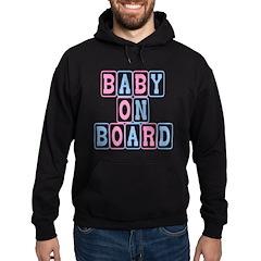 Baby On Board (blocks) Hoodie