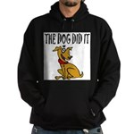 Dog Did It Hoodie (dark)