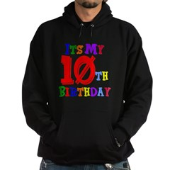 10th Birthday Hoodie (dark)