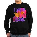 Love Grandpa Sweatshirt (dark)