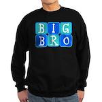 Big Bro (Blue/Green) Sweatshirt (dark)