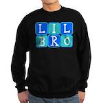 Lil Bro (Blue/Green) Sweatshirt (dark)