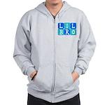 Lil Bro (Blue/Green) Zip Hoodie