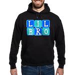 Lil Bro (Blue/Green) Hoodie (dark)