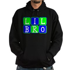 Lil Bro (Blue/Green Bright) Hoodie