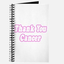 """Thank You Cancer (Pink)"" Journal"