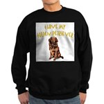 Golden Retriever Sweatshirt (dark)