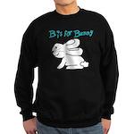B is for Bunny Sweatshirt (dark)