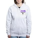 Cheer! Women's Zip Hoodie