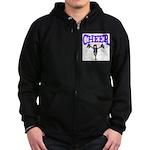 Cheer! Zip Hoodie (dark)