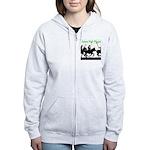 Future Polo Player Women's Zip Hoodie