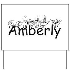 Amberly Yard Sign