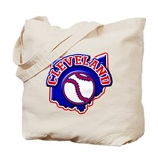 Cleveland Baseball Tote Bag