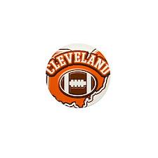 Cleveland Football Mini Button