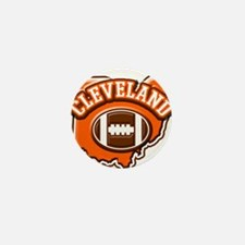 Cleveland Football Mini Button