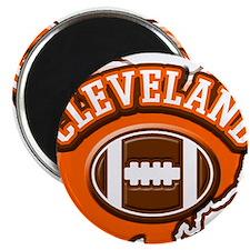 Cleveland Football Magnet
