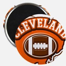 Cleveland Football Magnet