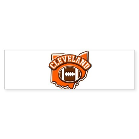 Cleveland Football Bumper Sticker