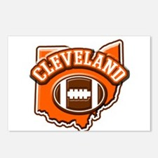 Cleveland Football Postcards (Package of 8)