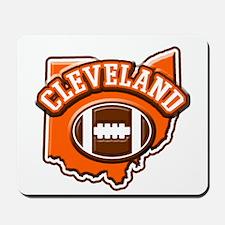 Cleveland Football Mousepad