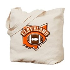Cleveland Football Tote Bag