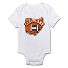 Cleveland Football Infant Bodysuit