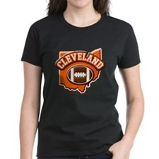 Cleveland Football Tee