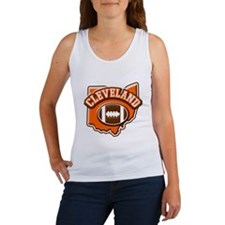 Cleveland Football Women's Tank Top